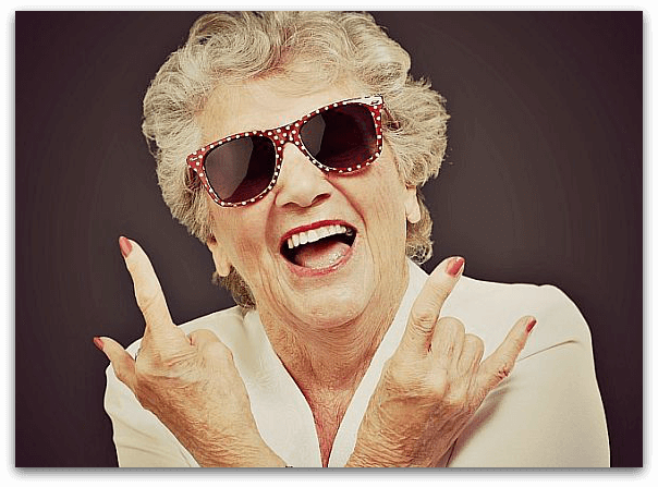 Ole granny!